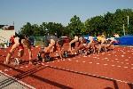 Start 100m fin�le